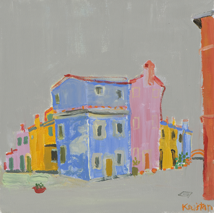 Burano. Acril on canvas. 45x45