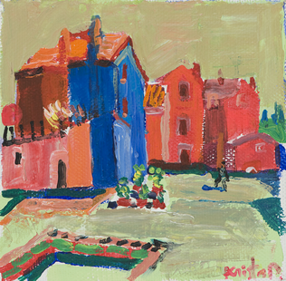 Burano. Acril on canvas. 20x20