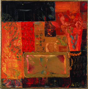 Still life. 2008. Oil on canvas. 100x100
