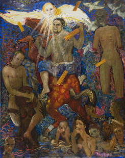 Hell. 2011. Oil on canvas. 240x190