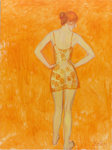 Orange. 2008. Oil on canvas. 200x190